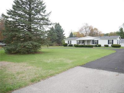 Van Buren, Van Buren Twp Single Family Home For Sale: 46670 Bemis Road