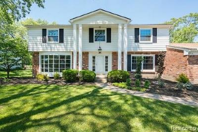 West Bloomfield Twp Single Family Home For Sale: 5544 Abington
