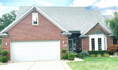 Commerce Single Family Home For Sale: 8440 Golf Lane Drive