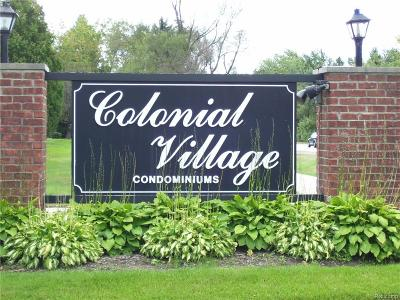 Condo/Townhouse For Sale: 1816 Colonial Village Way #4