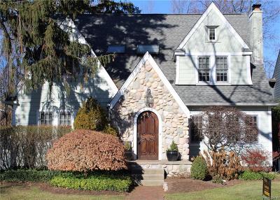 Birmingham MI Single Family Home For Sale: $948,650
