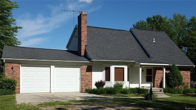 Addison Twp Single Family Home For Sale: 3152 Curtis Road