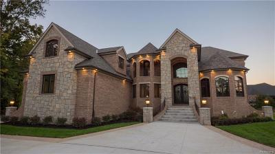 West Bloomfield, West Bloomfield Twp Single Family Home For Sale: 2692 Walnut Lake Road