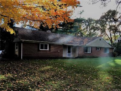 Holly Single Family Home For Sale: 3464 Grange Hall Road
