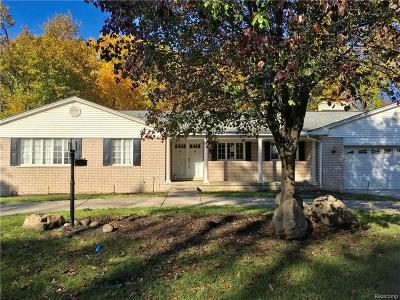 Southfield Single Family Home For Sale