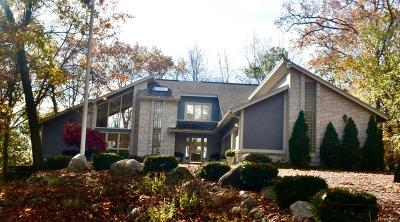 Waterford Twp Single Family Home For Sale: 6969 Skyline Drive