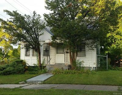 Macomb County, Oakland County, Wayne County Single Family Home For Sale: 14201 Sorrento Street