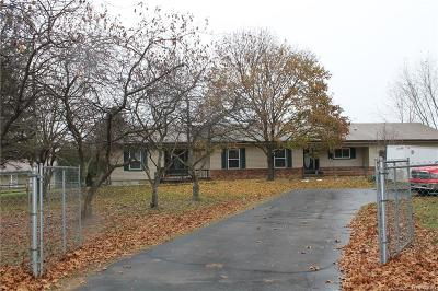 Livingston County Single Family Home For Sale: 9482 Stelzer Road