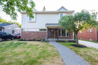 Royal Oak Single Family Home For Sale: 1332 S Wilson Avenue
