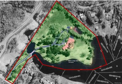 Bloomfield Hills Residential Lots & Land For Sale: 580 E Long Lake Road