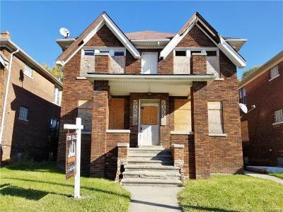 Multi Family Home For Sale: 5056 Coplin Street