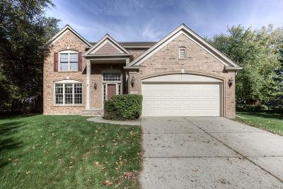 West Bloomfield Twp Single Family Home For Sale: 5720 Recreation Drive