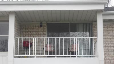 Livonia Condo/Townhouse For Sale: 35960 Ann Arbor Trail #250