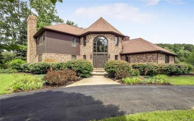 City Of The Vlg Of Clarkston, Clarkston, Independence, Independence Twp Single Family Home For Sale: 7770 Deerhill Drive