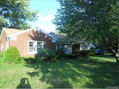Southfield Single Family Home For Sale: 29670 Briarbank Court