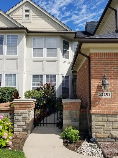 Troy Condo/Townhouse For Sale: 2051 Applewood Drive