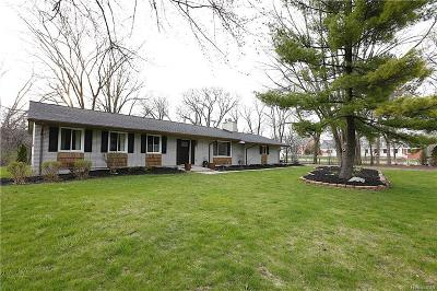 BLOOMFIELD Single Family Home For Sale: 3699 W Bradford Drive