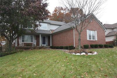 Wixom Single Family Home For Sale: 2129 Cliffside Drive