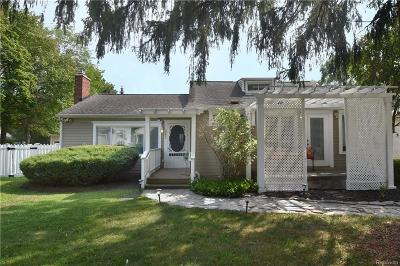 West Bloomfield Twp Single Family Home For Sale: 2187 Eastman Boulevard