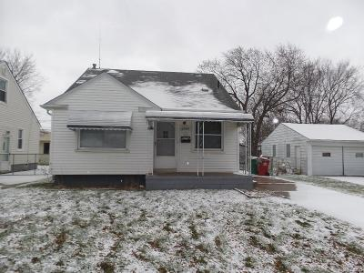 Eastpointe Single Family Home For Sale: 22068 David Avenue
