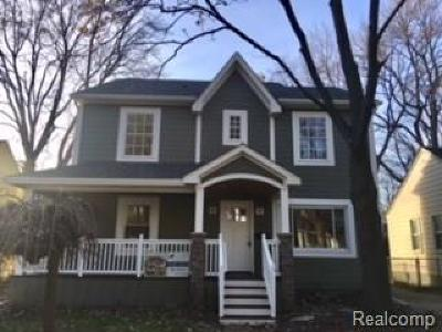 ROYAL OAK Single Family Home For Sale: 1211 N Blair Avenue