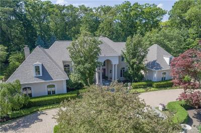 Bloomfield Twp Single Family Home For Sale: 5120 Clarendon Crest Street