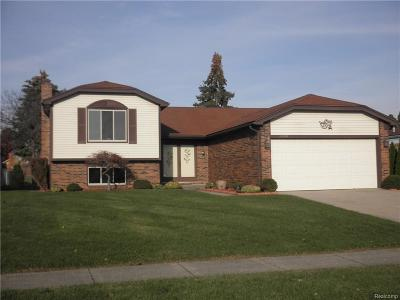 Sterling Heights MI Single Family Home For Sale: $214,900