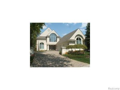 Birmingham MI Single Family Home For Sale: $1,895,000