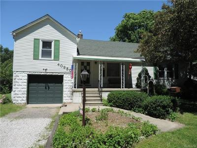 Northville MI Single Family Home For Sale: $184,900
