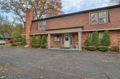 Bloomfield Twp Condo/Townhouse For Sale: 6350 Telegraph Road #2