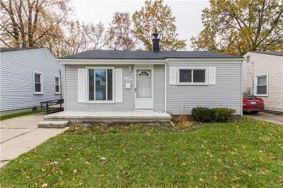 Madison Heights Single Family Home For Sale: 528 E Brockton Avenue