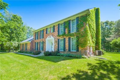 City Of The Vlg Of Clarkston, Clarkston, Independence, Independence Twp Single Family Home For Sale: 7830 Reese Road