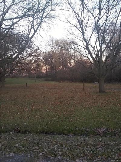 West Bloomfield Twp Residential Lots & Land For Sale: 5401 Doherty Street