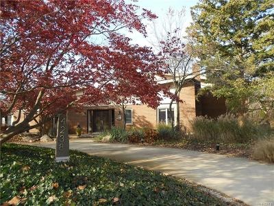 West Bloomfield, West Bloomfield Twp Single Family Home For Sale: 4238 Ramsgate Lane