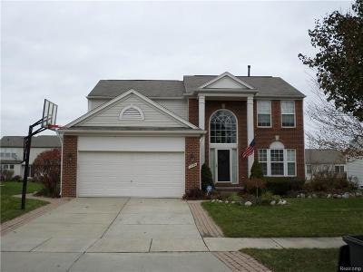MACOMB Single Family Home For Sale: 17799 Bayside Drive