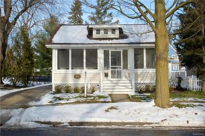 Northville Single Family Home For Sale: 525 Rouge Street