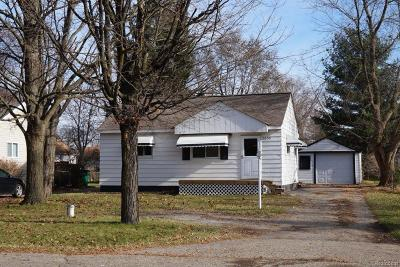 City Of The Vlg Of Clarkston, Clarkston, Independence Twp Single Family Home For Sale: 5300 Drayton Road