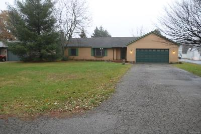 Wixom Single Family Home For Sale: 2937 Potter Road
