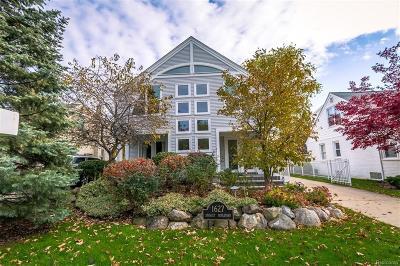 Birmingham MI Single Family Home For Sale: $599,900