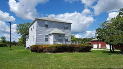 Monroe County Single Family Home For Sale: 12225 Telegraph Road