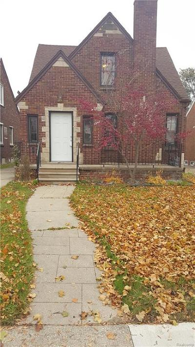 Dearborn Single Family Home For Sale: 6542 Hartwell Street