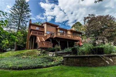 Bloomfield Hills MI Single Family Home For Sale: $1,249,000