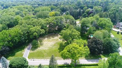 Bloomfield Hills Residential Lots & Land For Sale: 465 Haverhill Road