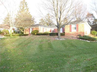 Farmington Single Family Home For Sale: 35612 Briar Ridge Lane