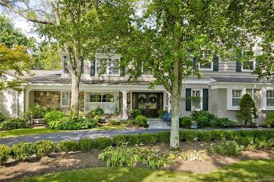 Bloomfield Hills Single Family Home For Sale: 760 Kennebec Court