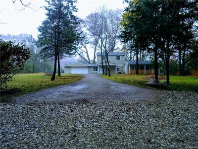 Rochester Single Family Home For Sale: 3371 York Road