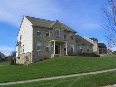 City Of The Vlg Of Clarkston, Clarkston, Independence Twp Single Family Home For Sale: 7017 Oakhurst Ridge Road