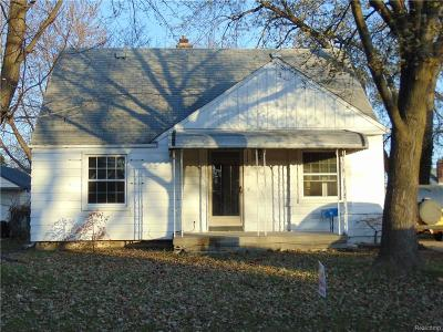 Brownstown Twp, Flat Rock, Riverview, Rockwood Single Family Home For Sale: 17747 Quarry Street