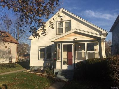 Wyandotte Single Family Home For Sale: 842 Orchard