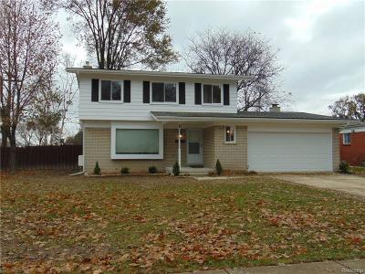 Southfield Single Family Home For Sale: 17530 Madison Street